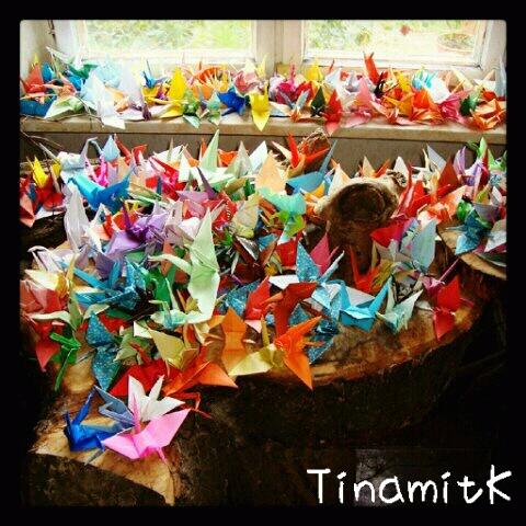 1000 Origami Kraniche - Senbazuru  (1/6)