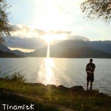 Abendsonne am Lake Kawaguchi