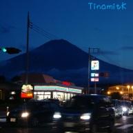 wenn es Nacht wird in Kawaguchiko