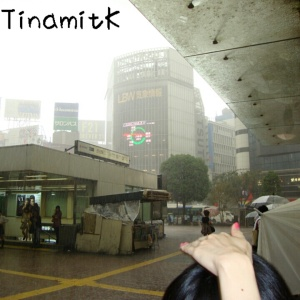 Regen in Shibuya