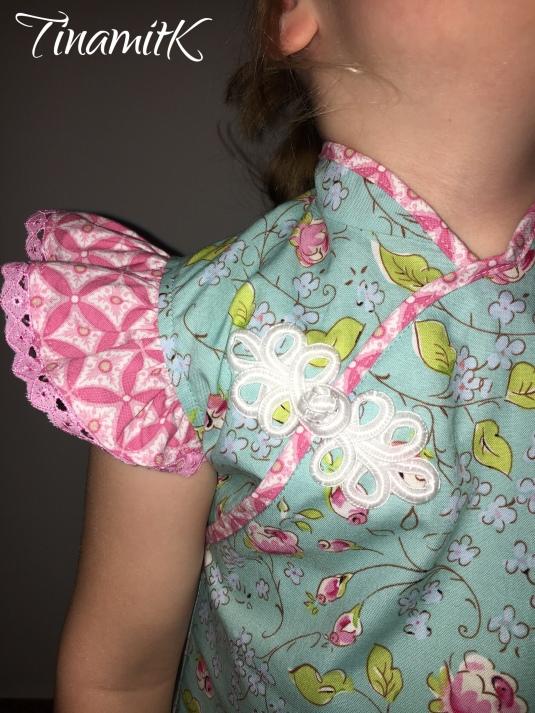サンプル縫い ☆ Girl\'s Qipao – Probenähen   TinamitK