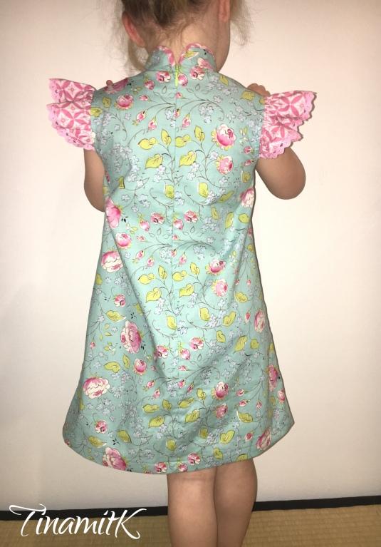 サンプル縫い ☆ Girl\'s Qipao – Probenähen | TinamitK